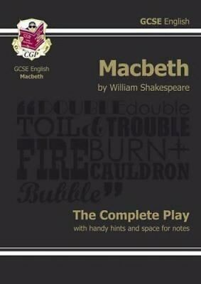 Grade 9-1 GCSE English Macbeth - The Complete Play 9781841461205