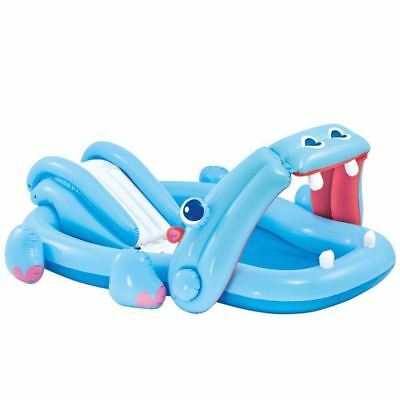 Intex 57150NP Hippo Play Centre Paddling Pool With Landing Mat For Ages 3+