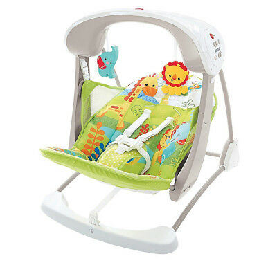 Fisher-Price Rainforest Friends Takealong Swing Suitable From Birth