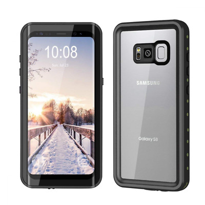 Extra Waterproof Case Full Protective Shock/Snow/Dirtproof Galaxy S8 Case