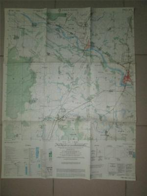 Special PHAN RANG AIRBASE  detailed 1971 Vietnam map 1:25,000 scale