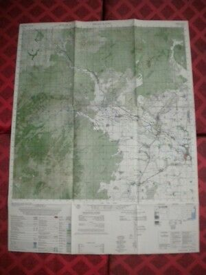 PHAN RANG  USAF fighter groups wing police dog Vietnam map 6732 II
