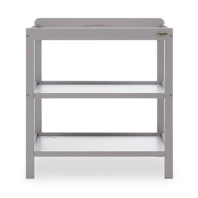Obaby Open Changing Unit (Warm Grey) Nursery Furniture