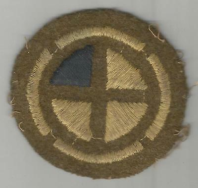 WW 1 US Army 35th Division 137th Infantry Regiment Patch Inv# A485