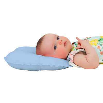 Anti-Pressure Baby Head Support Pillow Prevent Plagiocephaly Flathead Sky Blue
