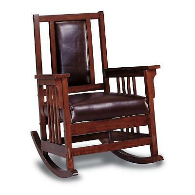 Astonishing Kapelner Luxury Mission Style Rocking Chair 382 99 Picclick Cjindustries Chair Design For Home Cjindustriesco