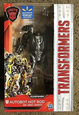 Transformers Last Knight Autobot Hot Rod New Deluxe Figure