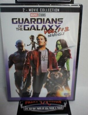 Guardians of the Galaxy Vol. 1 & 2 : 2-Movie Collection.free shipping