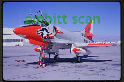 Original Slide, Navy NOTS China Lake Douglas A4D-1 Skyhawk, 1961