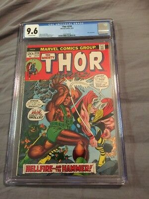 The Mighty Thor 210 1973 CGC 9.6 Ulik Appearance Awesome Book!!!