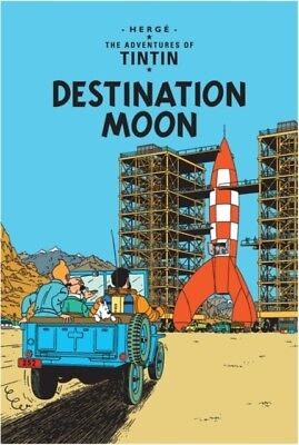 Destination Moon (The Adventures of Tintin) (Hardcover), Herge, 9...