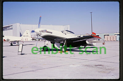 Original Slide, Army North American F-51D Mustang at Edwards AFB, 1969