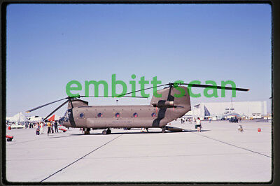 Original Slide, Army Boeing Vertol CH-47A Chinook at Edwards AFB, 1969