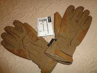 Outdoor Research Super Couloir Glove Liners, Style: 73186 Coyote LARGE