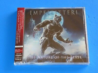 2018 JAPAN IMPELLITTERI THE NATURE OF THE BEAST CD+DVD w/BONUS TRACK FOR JAPAN