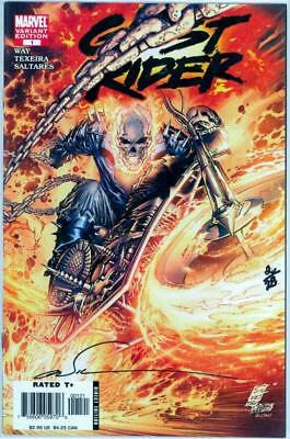 Ghost Rider #1 Df Dynamic Forces Signed Marc Silvestri Coa #2 Marvel Movie