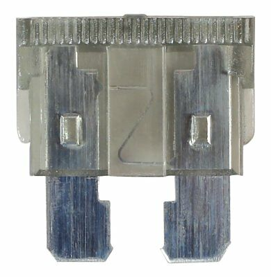 Connect Workshop Consumables 36820 Standard Blade Fuse, 2 A, Set of 10