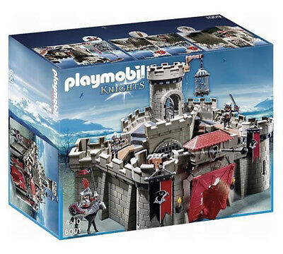 Playmobil Knights 6001 Hawk Knights Castle Playset Toy For Ages 6-10 Years Old