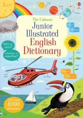 Junior Illustrated English Dictionary by Hannah Wood 9781409582625