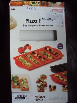 Pizza Party Silicone Pizza Mould Make Your Own Mini Pizzas  Free Uk Post