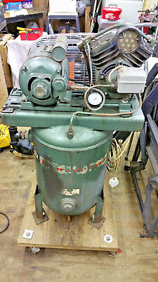 Ingersoll rand industrial vertical air compressor. Model-B.