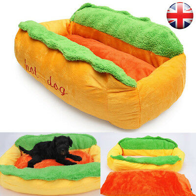 Hot Dog Kennel Pet Bed Cotton Cat  Nest  Puppy House Warm* Mat Cushion Washable
