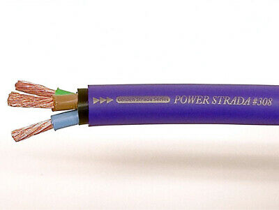 Nanotec Power Strada 308 Mains Cable | Sold Per Metre For Diy