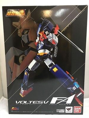Bandai Soul of Chogokin GX-79 Voltes V F.A Diecast Full Action Figure 18cm F/S