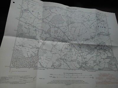 High Halden And Kent & East Sussex Railway- Old Os Planner Map 1870-1951