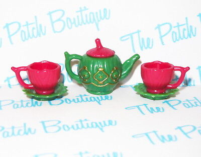 Ever After High Hat-Tastic Doll Size 1:6 Diorama Tea Party Set Cups & Teapot Lot