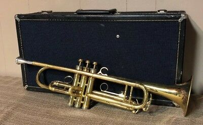 King Super 20 S1 Trumpet And 7M Mouthpiece Ready To Play Late 1960s
