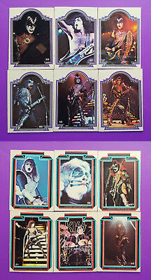 Kiss Series 1 Lot Of 12 Trading Cards (Topps 1978) Check Out The Photos