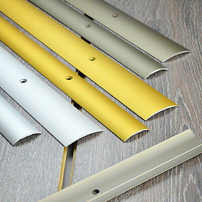 90cm ALUMINIUM THRESHOLD BARS door interior-use strip floor leveling out height