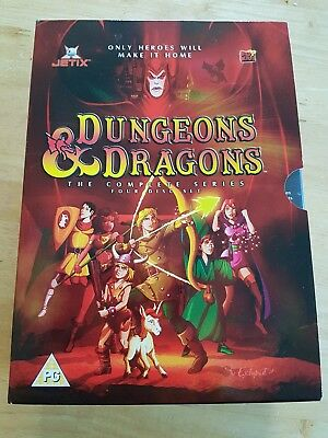 Dungeons And Dragons - Complete (DVD, 2004, Animated, Box Set)