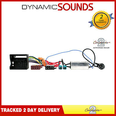 CT20VW05 Car Stereo ISO Harness Adaptor Wiring Lead for Audi, Seat, Skoda & VW