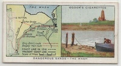 King John  Lost Jewels  The Wash  Goodwin Sands  Kent England 80+ Y/O Trade Card