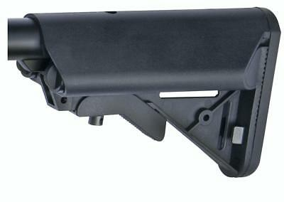 Asg Crane Stock Type 4 Battery Holder Black Polymer Airsoft Stock 17554