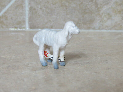HTF vintage Schleich Rare retired #1309 Lamb standing 1 baby sheep 1984-1994 OLD
