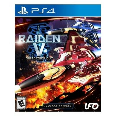 Tommo Inc Tom 50007 Raiden V: Directors Cut Limited Edition With Soundtrack Cd