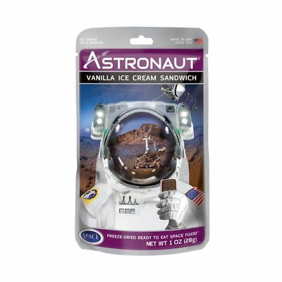 Astronaut Vanilla Ice Cream Sandwich Freeze Dried NASA Space Food Novelty Gift