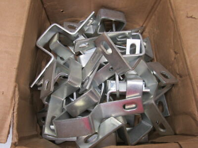 "2"" x 2"" Square Tube Wall Bracket 2 Hole Strap Support Lot Of 30"