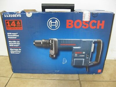 Bosch 11316EVS 14 Amp Corded SDS-max® Variable Speed Demolition Hammer w/Case