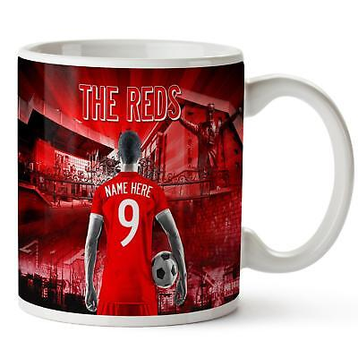 Personalised LIVERPOOL Mug Football Cup Fathers Day Birthday Dad Gift AF78