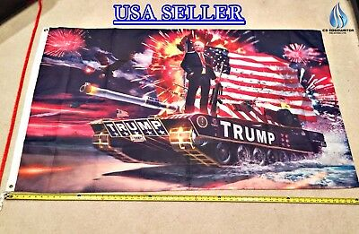 DONALD TRUMP FLAG *!!FREE SHIPPING!!* TANK 2020 3x5""