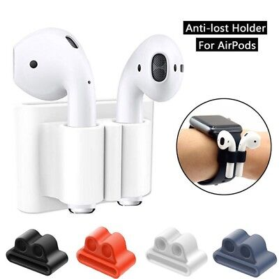 New portable Anti Lost Silicone Holder For AirPods Watch Band (Case)