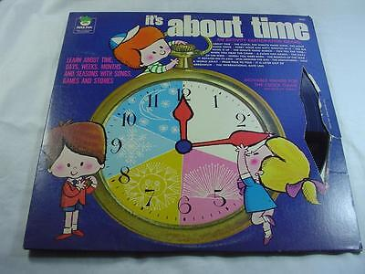 It's About Time - Peter Pan Records - Missing Clock Hands
