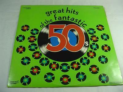Great Songs Of The Fantastic 50's Volume 1 - 2LP EX Condition