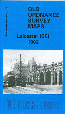 Old Ordnance Survey Map Leicester South East London Road Highfields 1902