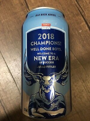 Tooheys New Collectable Can - Old Buck Advice: Champions 2018
