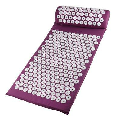 Tapis Oreiller Acupressure, Coussin Massage Douleur Relaxation Musculaire